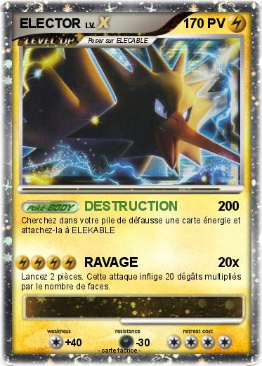 Pok mon elector 253 253 destruction ma carte pok mon - Elector pokemon x ...