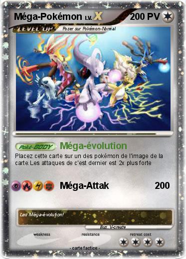 Pok mon mega pokemon 7 7 m ga volution ma carte pok mon - Pokemon a imprimer mega evolution ...