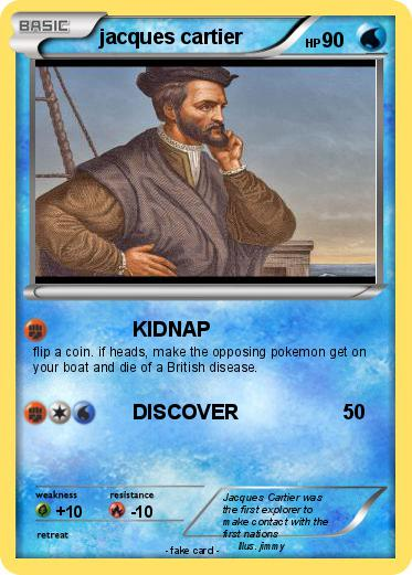 Pokémon jacques cartier 33 33 - KIDNAP - My Pokemon Card