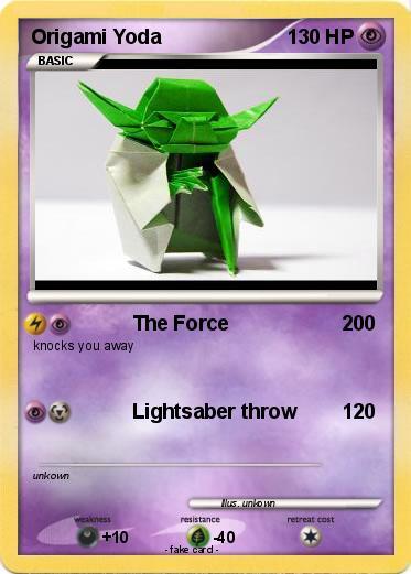 Pokemon Origami Yoda 22