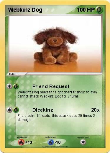 Pokemon Webkinz Dog