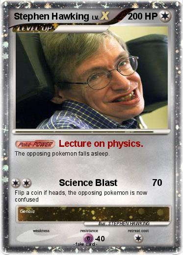 pok u00e9mon stephen hawking 21 21 - lecture on physics