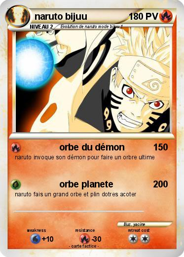 Pok mon naruto bijuu 52 52 orbe du d mon ma carte pok mon - Rikudo a imprimer ...