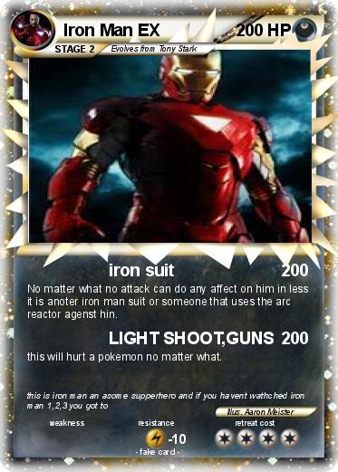 pok233mon iron man ex 4 4 iron suit my pokemon card