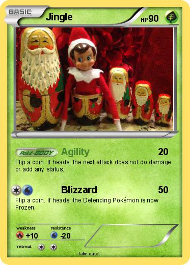 Pokémon Jingle 14 14 - Agility - My Pokemon Card