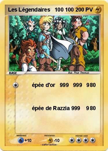 Pokemon Les Legendaires 100 100