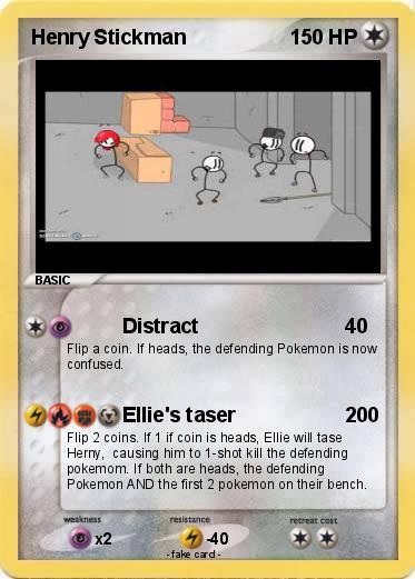 Pokémon Henry Hudson 10 10: Pokémon Henry Stickman 24 24