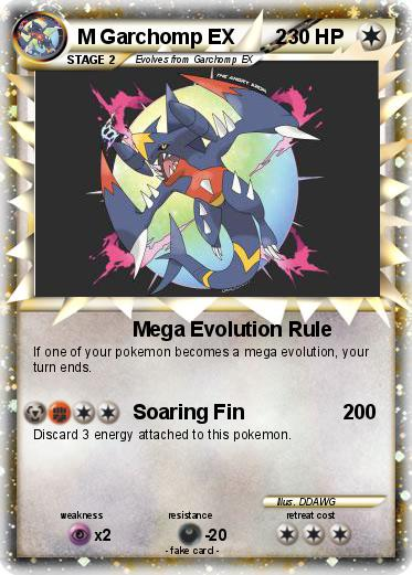 Pokémon TCG Mega GarchompEX Premium Collection