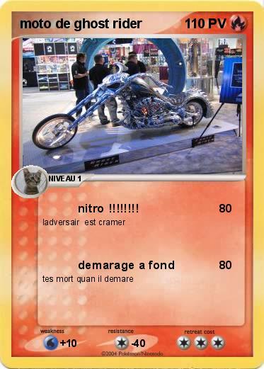 Pok mon moto de ghost rider nitro ma carte - Dessin de ghost rider ...