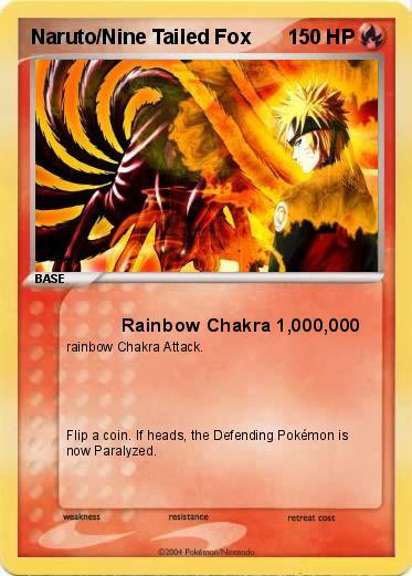 Pokemon Naruto Nine Tailed Fox
