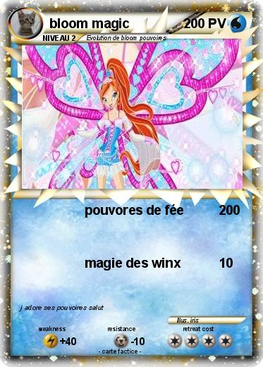 Pok mon bloom magic pouvores de f e ma carte pok mon - Carte pokemon fee ...