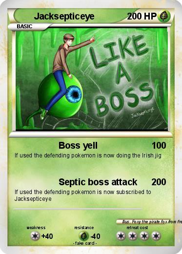 Pokémon Septiceye 1 1 - Septic - My Pokemon Card