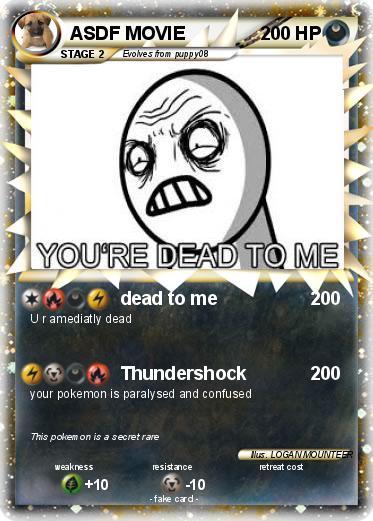 pokémon asdf movie 38 38 dead to me my pokemon card
