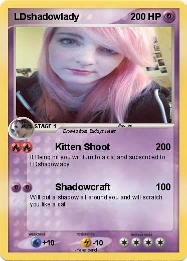 pokémon ldshadowlady 6 6 kitten shoot my pokemon card