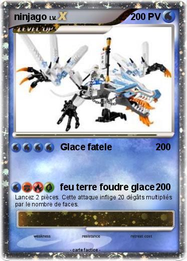 Pok mon ninjago 90 90 glace fatele ma carte pok mon - Carte ninjago ...