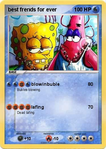 Pokémon best frends for ever - blowinbuble - My Pokemon Card