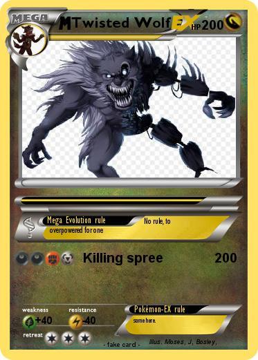 Pokémon Twisted Wolf 5 5 - Killing spree - My Pokemon Card