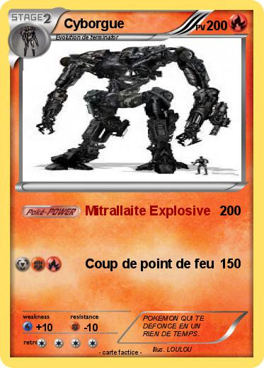 Pok mon cyborgue mitrallaite explosive ma carte pok mon - Rikudo a imprimer ...