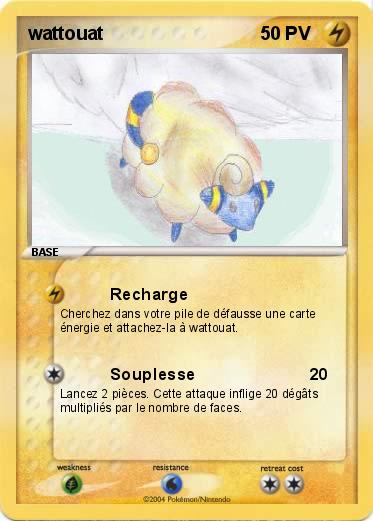 Pok mon wattouat recharge ma carte pok mon - Pokemon wattouat ...