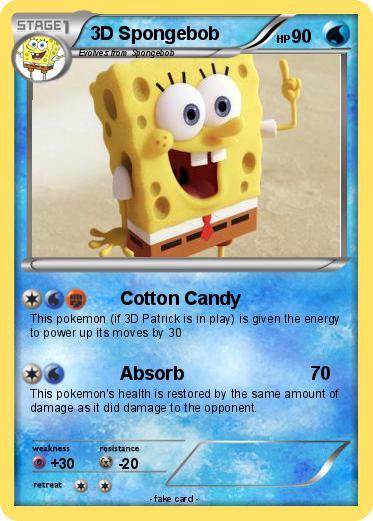 Pokmon 3D Spongebob 2