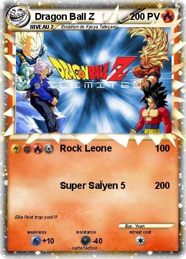 Pok mon dragon ball z 73 73 rock leone ma carte pok mon - Carte pokemon dragon ...