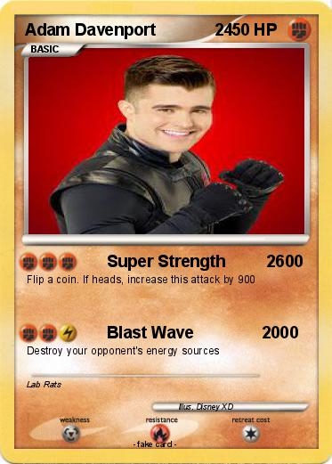 pokémon adam davenport 24 24 super strength 2600 my pokemon card