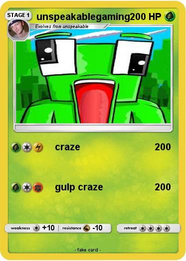 Pok 233 Mon Unspeakablegaming 4 4 Craze My Pokemon Card
