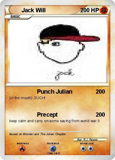 pok u00e9mon jack will - punch julian