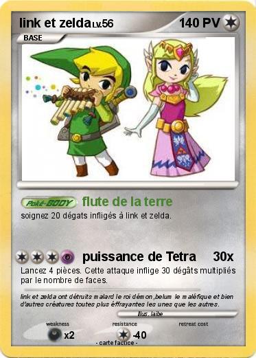 pokemon link et zelda - Link Et Zelda