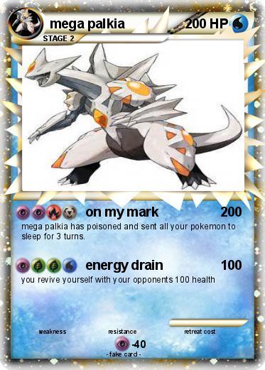 Pokémon mega palkia 49 49 - on my mark - My Pokemon Card