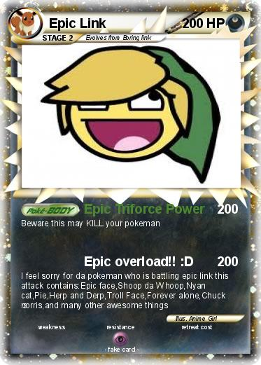 Pokémon Epic Link 2 2 Epic Triforce Power My Pokemon Card