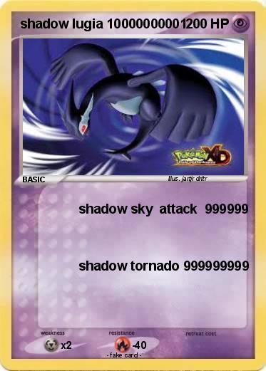 Pokémon shadow lugia 10000000001 10000000001 - shadow sky ...