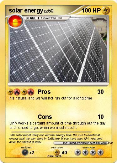 Pokemon Solar Energy