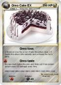 Oreo Cake EX