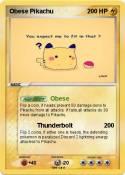 Obese Pikachu