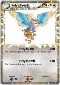 Holy phoenix