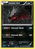 Demonic Wolf