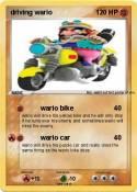 driving wario