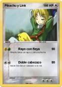 Pikachu y Link
