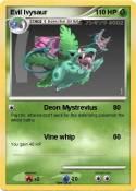 Evil Ivysaur