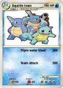 Squirtle team