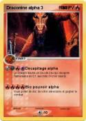 Draconine alpha