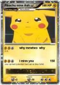 Pikachu miss