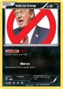 Vote no trump
