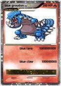 blue groudon