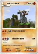 unicorn dude