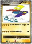 Bart surfeur