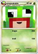 Pok 233 Mon Unspeakable 8 8 Moose Is A Nub My Pokemon Card