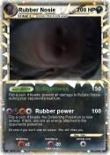 Rubber Nosie