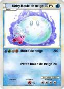 Kirby Boule de